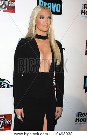 LOS ANGELES - DEC 3:  Erika Girardi at theThe Real Housewives of Beverly Hills Premiere Red Carpet 2015 at the W Hotel Hollywood on December 3, 2015 in Los Angeles, CA