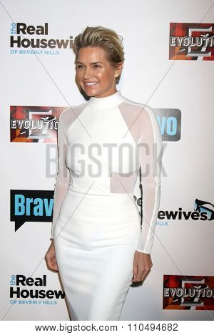 LOS ANGELES - DEC 3:  Yolanda Foster at theThe Real Housewives of Beverly Hills Premiere Red Carpet 2015 at the W Hotel Hollywood on December 3, 2015 in Los Angeles, CA