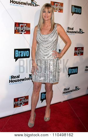 LOS ANGELES - DEC 3:  Eileen Davidson at theThe Real Housewives of Beverly Hills Premiere Red Carpet 2015 at the W Hotel Hollywood on December 3, 2015 in Los Angeles, CA