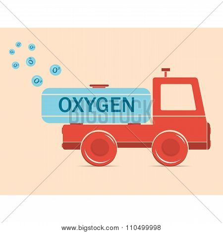 Truck Erythrocyte Carries Oxygen