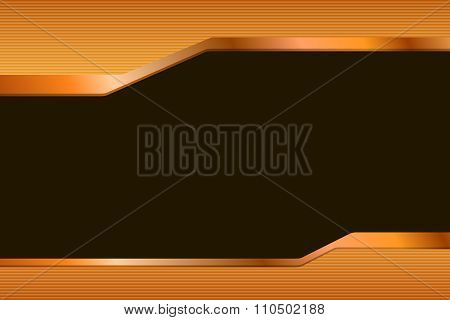 Abstract background gradient orange yellow black lines strips illustration vector
