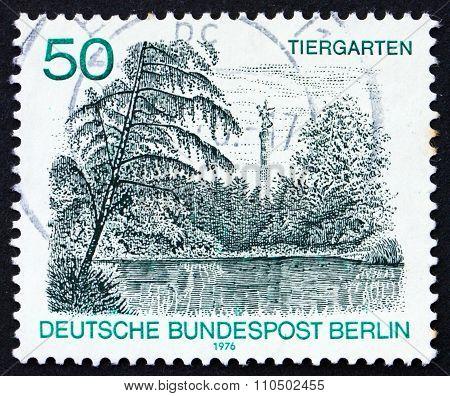 Postage Stamp Germany 1976 Tiergarten, Zoo
