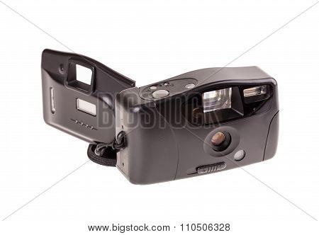 Old plastic cheap photo camera.