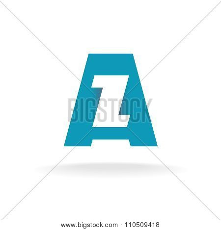 Letters A And Z Logo