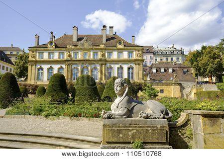 Neuchatel, The Palace Du Peyrou