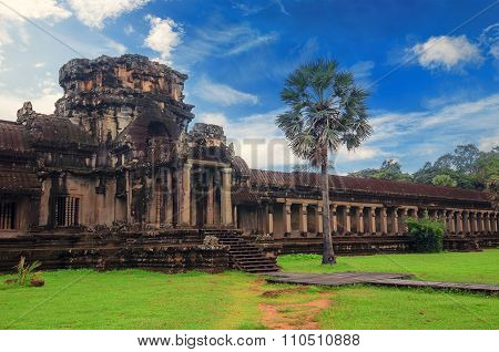 Angkor Wat - A Giant Hindu Temple Complex In Cambodia