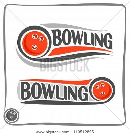 Creative Image on the subject of bowling