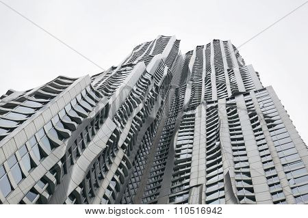 Beekman Tower By Frank Gehry In Manhattan New York City