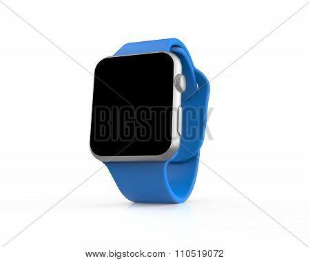 Blue Generic Smart Watch
