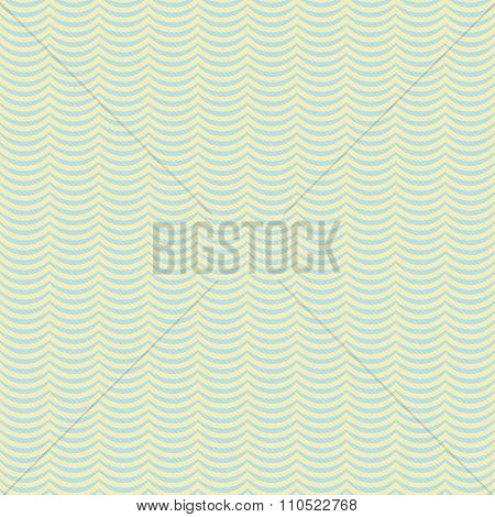 Yellow And Blue Wavy Stripes Tile Pattern Repeat Background