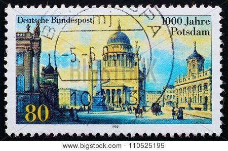 Postage Stamp Germany 1993 City Of Potsdam