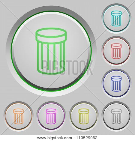 Trash Push Buttons