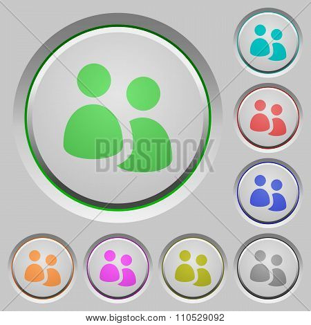 User Group Push Buttons