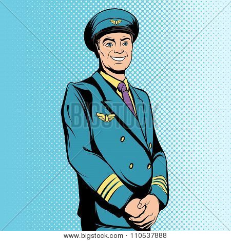 Comics flight captain
