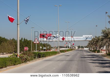 Bahrain International Circuit Entrance