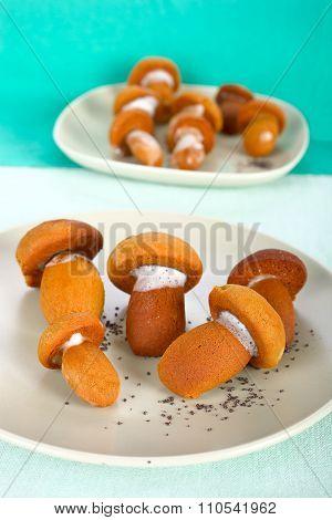 Mushroom cookies