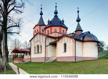 Monastery Church Of The Archangel Michael In Ladomirova