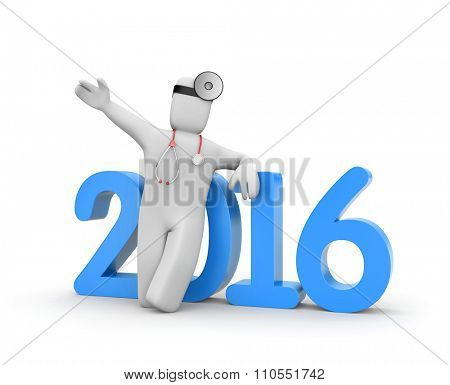 Doctor calls on everyone in the new year