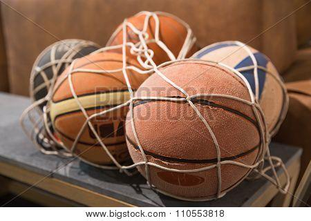Old Basket Balls
