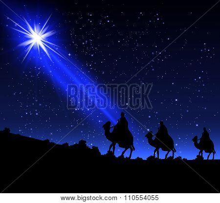 The Three Wise Men Of The Star