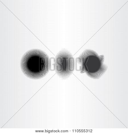 Black Smudge Background Design Elements