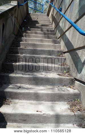 Stairway Beside the Ruby Street Bridge
