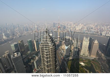 Shanghai From Above