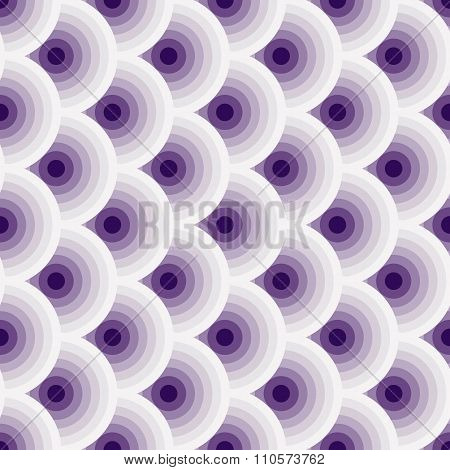 Vintage Violet-white Seamless Pattern
