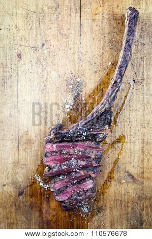 Dry Agd Barbecue Tomahawk Steak