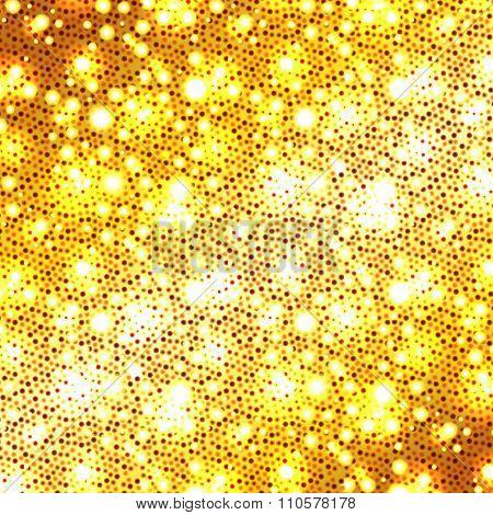 Christmas golden glitter background