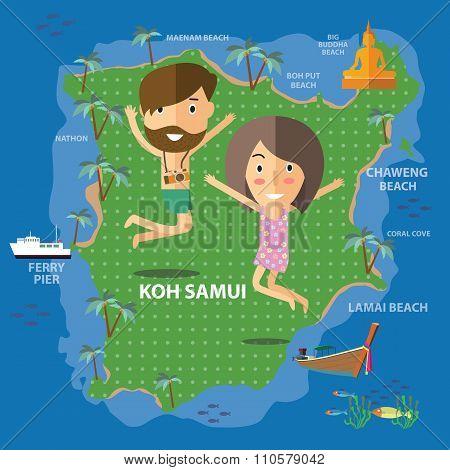 travel Koh Samui Thailand