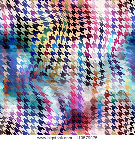 Abstract background hounds-tooth