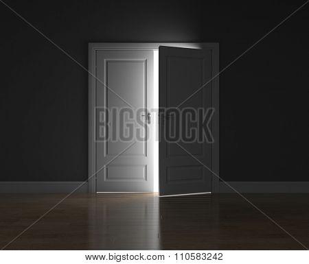 The door ajar