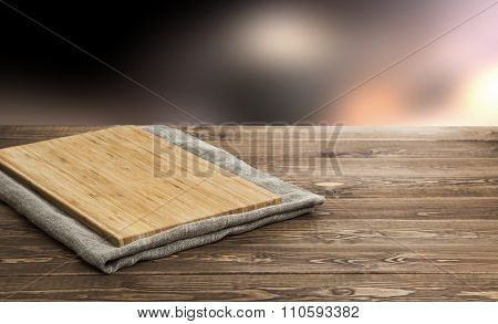 cutting board for the product