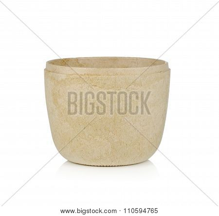 Blank Paper Cup On White Background