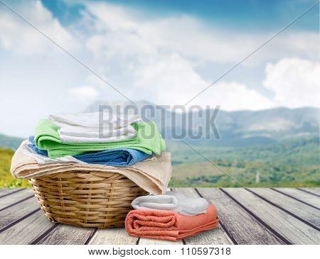 Laundry.