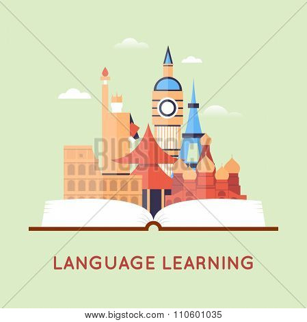 Learning foreign languages.