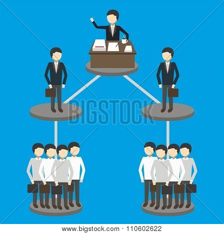 Illustration of business concept.