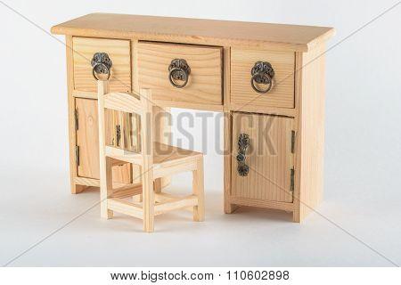 decorative wooden bureau