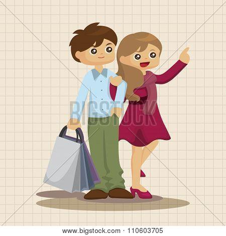 Sale Shopaholic Theme Elements
