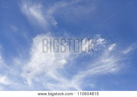 High Clouds In Later Spring