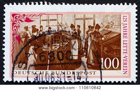 Postage Stamp Germany 1991 Lette Foundation