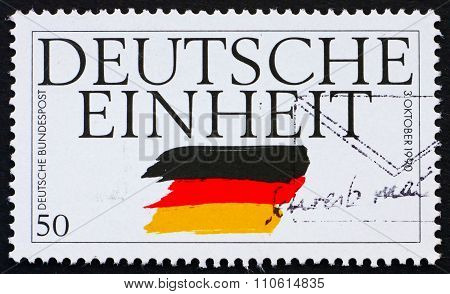Postage Stamp Germany 1995 German Reunification