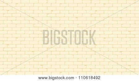Pale Painted Brick Wall