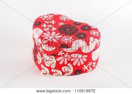 decorative casket with floral ornament