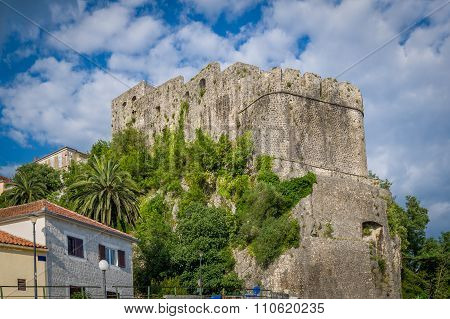 Forte Mare ancient fortress in Montenegro