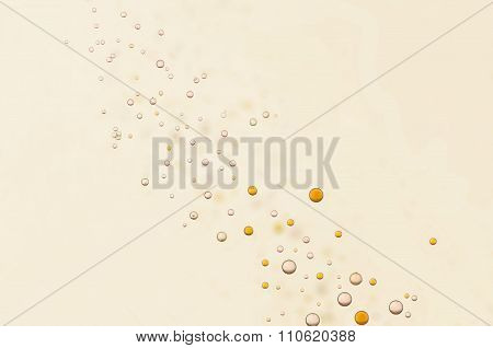 Yellow Air Bubbles