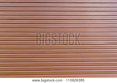 Background Of Brown Vinyl Siding Planks