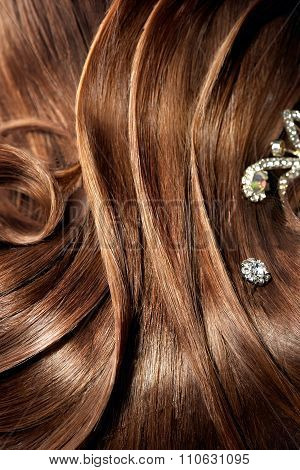 Background of beautiful hairstyle