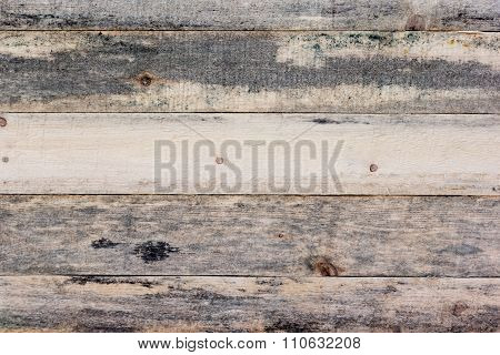 Background Of Rough Wooden Planks With Mold